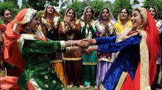 Teej festival celebration, Amritsar, India