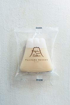 The soap is manufactured in the factory located at the Lake Kawaguchi Cookie Packaging, Soap Packaging, Cute Packaging, Brand Packaging, Label Design, Box Design, Package Design, Branding, Monte Fuji