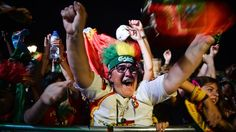#EURO2016 - Portugal fans in Lisbon celebrate the victory of the Euro 2016 after beating France 1-0 with a goal by Éder in the 109th minute - guardian.com