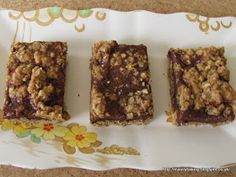 Mainly Baking: Chocolate Toffee Oaty Squares