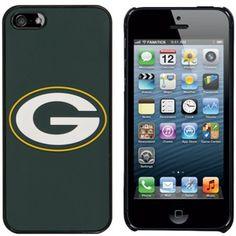 Green Bay Packers Team Logo iPhone 5 Hard Case - Green