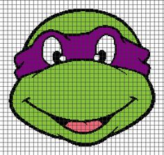 TMNT crochet chart