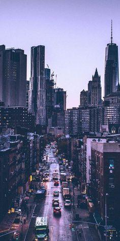 City Aesthetic, Travel Aesthetic, City Wallpaper, Wallpaper Backgrounds, Travel Wallpaper, Screen Wallpaper, New York Iphone Wallpaper, Purple Wallpaper Hd, Wallpaper Doodle