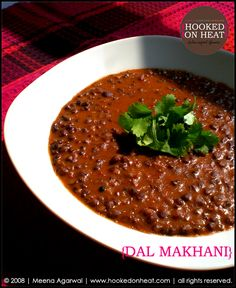 Recreating Perfection: Dal Makhani (Creamy Black Lentils) | http://www.hookedonheat.com/2007/11/14/recreating-perfection/
