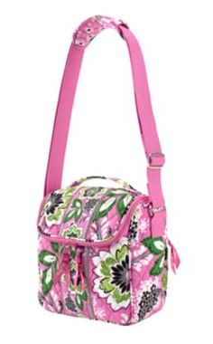 I did only like Vera Bradley in Baroque...but I am LOVING the new Priscilla Pink. Want this camera bag!!