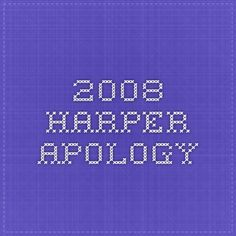 2008 Harper Apology