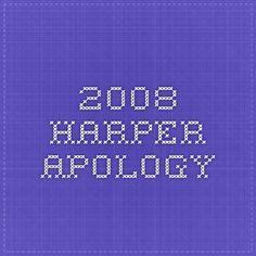 2008 Harper Apology