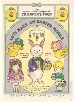 Miss Missy Paper Dolls: More Easter Children's Pages