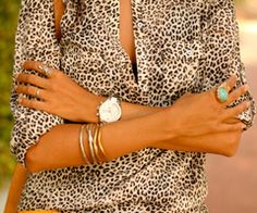 Animal print done right.