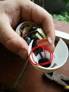 Salvaging electrical components from light bulbs