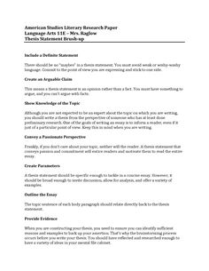Attrayant [ Research Paper Thesis Statement Examples Png Few Great For ]   Best Free  Home Design Idea U0026 Inspiration