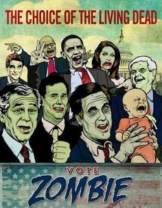 Calling politicians zombies is an insult to zombies.