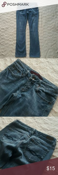 Refuge Jeans 0 Short  These jeans are soft and stretchy for maximum comfort! The medium wash pairs great with everything. Dress up with heels or go casual with your favorite sneakers. refuge Jeans Straight Leg