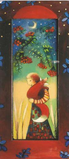 Naive Art, Finland, New Art, Martini, Illustrators, Folk Art, Artsy, Foxes, Cute