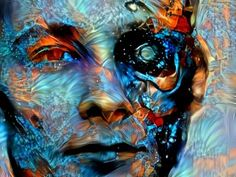 Гд-Ѵ Қґҵҏд • Deep Dream Generator Digital Art, Deep, Painting, Painting Art, Paintings, Painted Canvas, Drawings