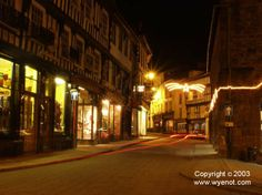 High Street and the Market House, Ross-on-Wye, Herefordshire