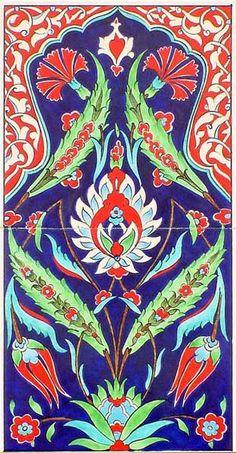 Iznik Tile Panel yurdan.com