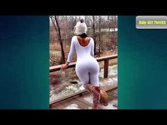 Plus Size Model Olivia Jensen Nice Curvy Figure with Game & Beauty Make Up - YouTube