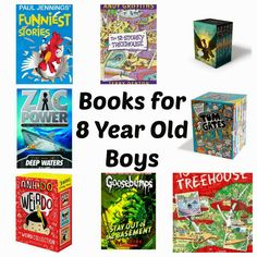 Actually Amy: Books for 8 year old boys