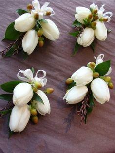 tulip corsages