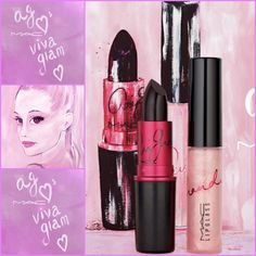 Ariana Grande M.A.C viva glam collection 1! so happy to share you my new college