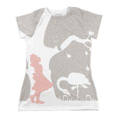 Alice's Adventures in Wonderland | Book T-Shirt | Litographs $34
