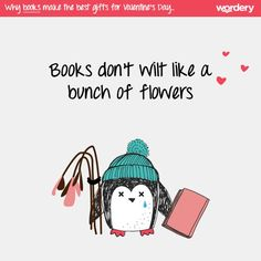 A few more reasons why books make the best #ValentinesDay gifts  #HeadOverHeelsForBooks
