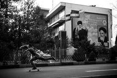 Mathias Zwick. Iran's skateboarding scene. A push towards the West.