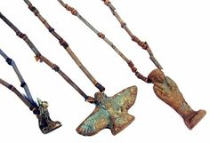 'Go Big': Ancient Egyptian artifacts authentic ancient jewelry ancient necklace 600 - 300 BC