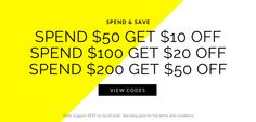 Spend & Save Promotion