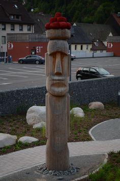 Totem en Triberg