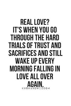 Real love is a choice and a risk, not a feeling. It doesnt promise that you won't get hurt but it does promise that the reward of enduring will be met.