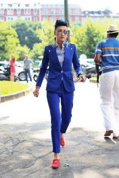 Power Suits For Women - Street Style Looks (6)