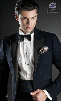 Traje de novio azul 970 ONGala Wedding suit