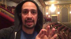 Lin-Manuel Miranda rapping about moana !