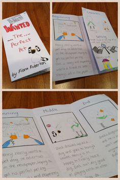 As a relief teacher you probably won't always have access to a photocopier. Here is a way for students to create a book report from a piece of white