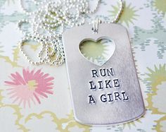 """CONTEST - PIN TO WIN  1) follow @UltimateDirection @AnotherMotherRunner, @Jennifer Harrell Sports - Convert to Skirt, & @AltraZeroDrop  2) Create a board and call it """"Run Like A Girl""""  3) Pin your favorite running items to that board tagged #runlikeagirl (hint Poylvore is how you create the collage)"""