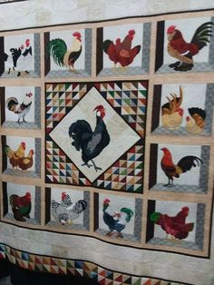 Chickens! CA2 Quilt Show 2018