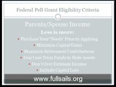 FAFSA Application for Grants - How to Get Approved