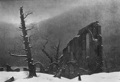 05 September we mark the birth of Caspar David Friedrich, born 1774. Friedrich left the studio for the last time in 1840.