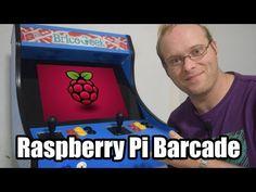 Máquina Arcade con Raspberry Pi y retroPie - YouTube