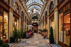 Galerie Vivienne, built in is one of the most iconic covered arcades in Paris. Architecture Parisienne, Paris Architecture, Conciergerie Paris, Foto Paris, Tour Saint Jacques, Rue Montorgueil, Galerie Vivienne, One Day In Paris, Palais Royal