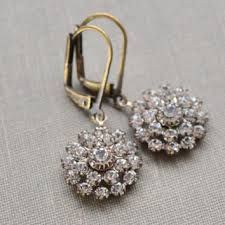 old hollywood earrings - Google Search