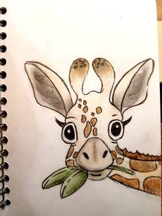 drawings easy drawing zeichnen sketch giraffe animal pencil sketches colorful ideen draw disney mykinglist skizzen anime positivevibes tutorials und zeichnungen