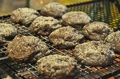 Christmas Baking - Rolo Cookies -