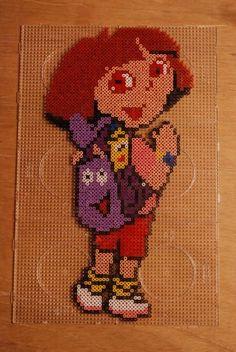 Dora hama beads by perleshama30