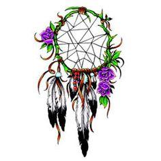 Dreamcatcher tattoo design!