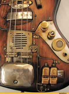 Steampunk,стимпанк, паропанк,гитары,песочница