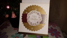 Christmas card-recycle project