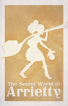 The Secret World of Arrietty by Avrid on deviantART
